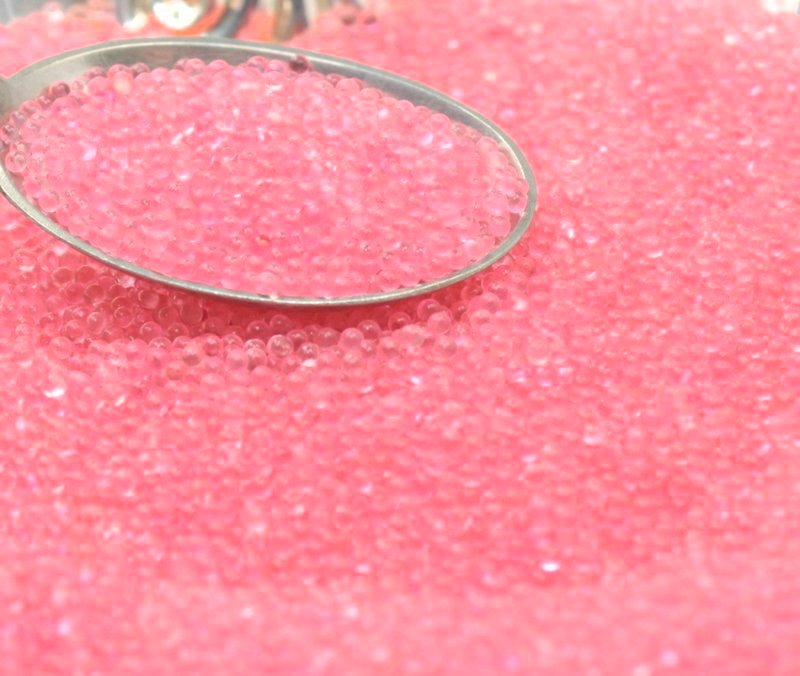 Clear Pink - Glass Beads (311-3018)